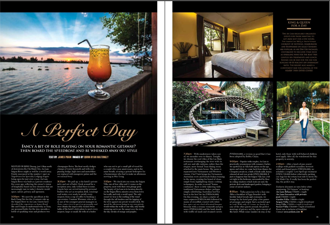 Hotel Review - An Lam Saigon River - Oi April 2013