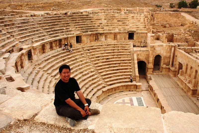 Jerash - Ampitheater