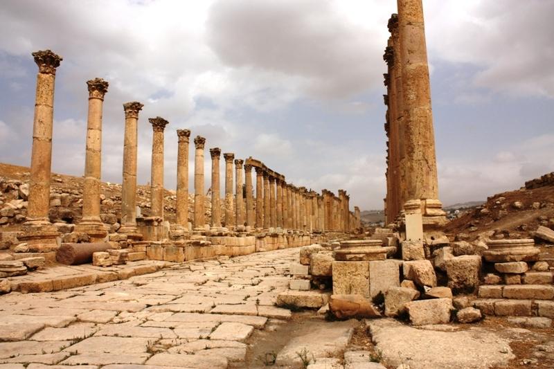 Jerash - Columned Boulevard