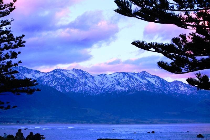 Kaikoura Purple Sky
