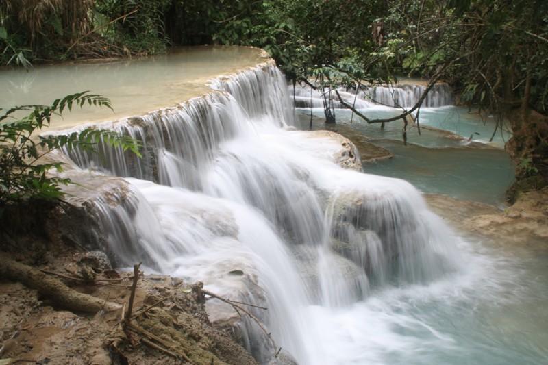 Laos - Luang Prabang - Kwang Si Falls