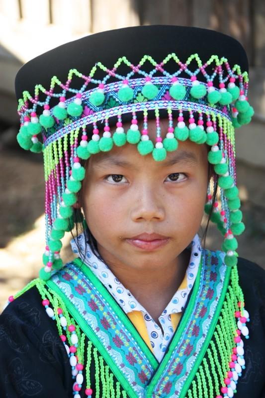 Laos - Luang Prabang - Minority Girl 2