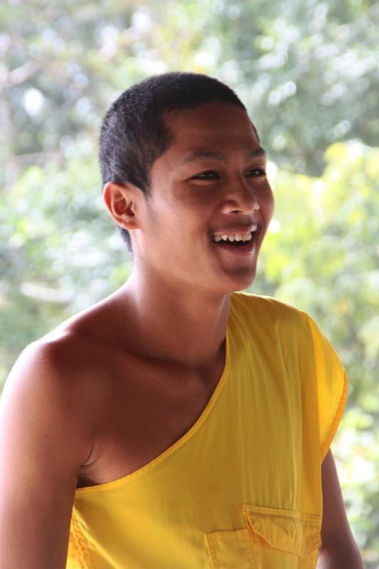 Laos - Luang Prabang - Monk
