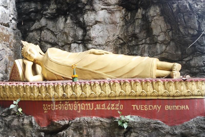 Laos - Luang Prabang - Phou Si Buddha