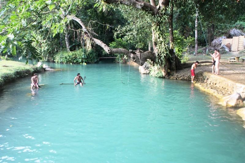 Laos - Vang Vieng - Blue Lagoon