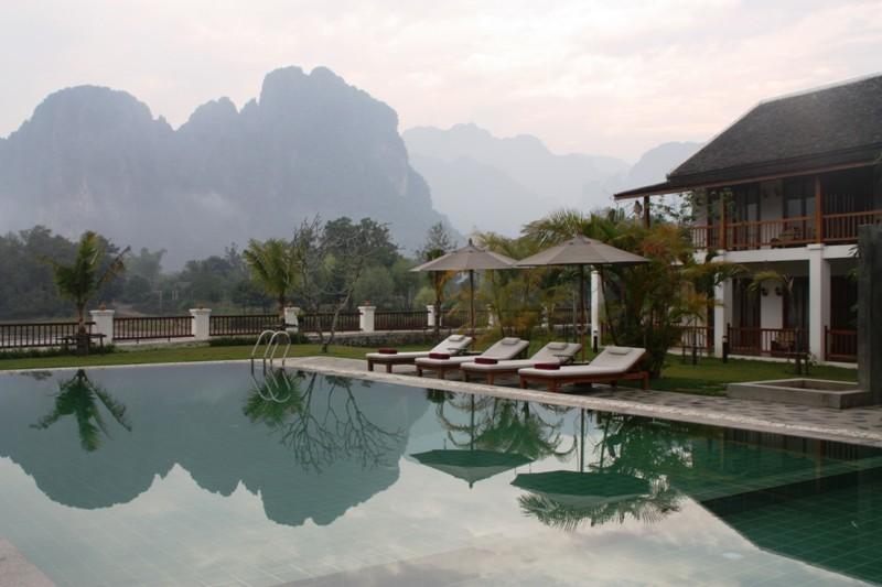 Laos - Vang Vieng - Riverside Boutique