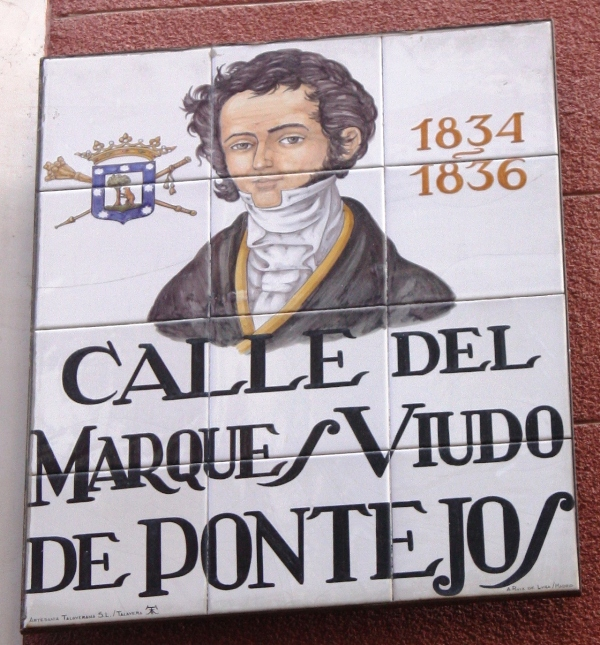 Madrid - Tiled Street Signs