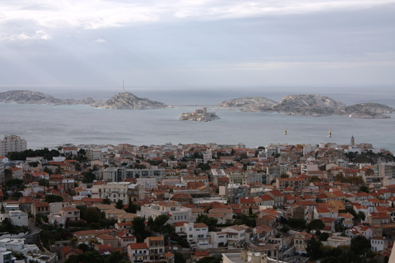 Marseille - View of Chateau D'If