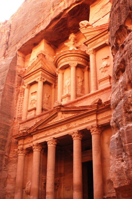 Petra - Rose colored Treasury