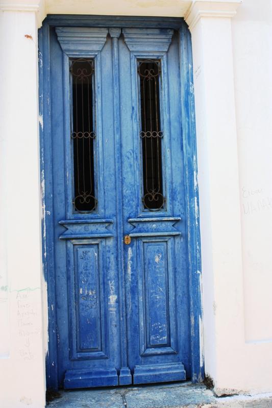 Poros, Door on clock tower