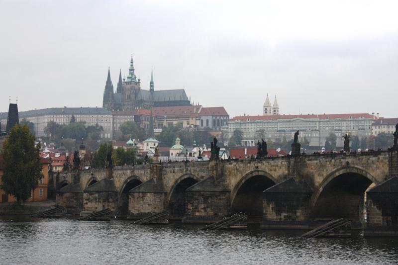 Prague - View of Charles Bridge