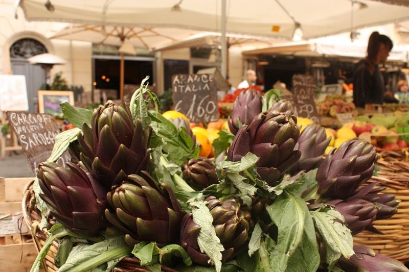 Rome - Campo di Fiori - Morning Market