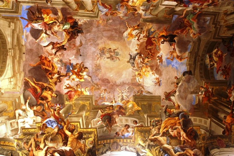 Rome - St Ignazio - Ceiling