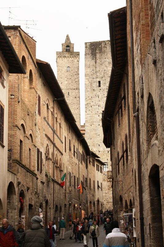 San Gimignano - Streets