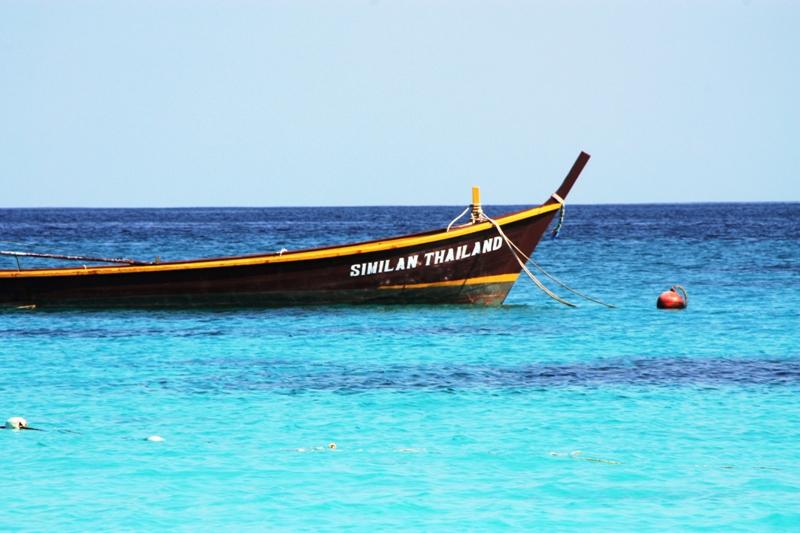 Similan - Island 4 - Park Boat 2