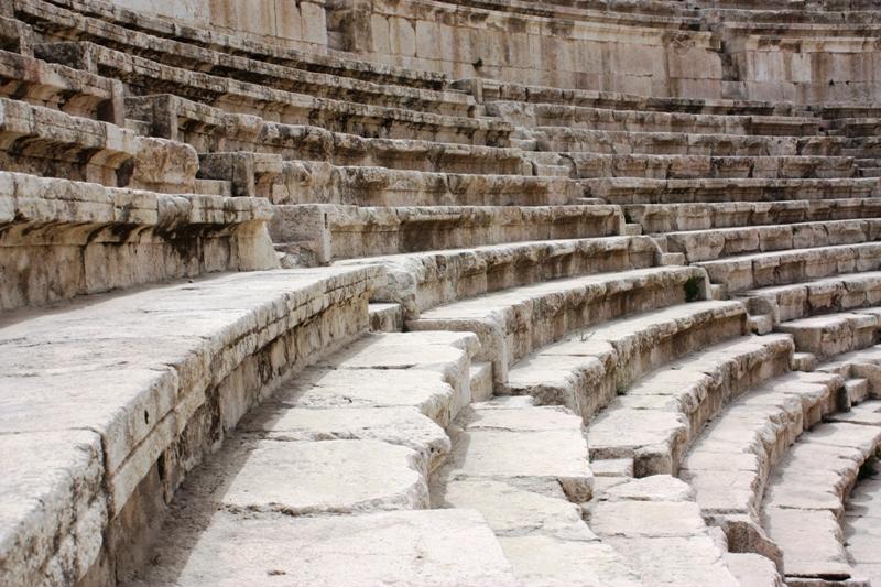 Steps in Amman Ampitheater
