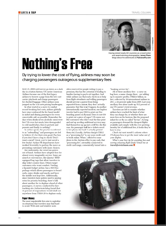 Travel Column - Airline Fees - 2013-03 Oi Vietnam