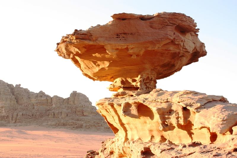 Wadi Rum Mushroom Rock