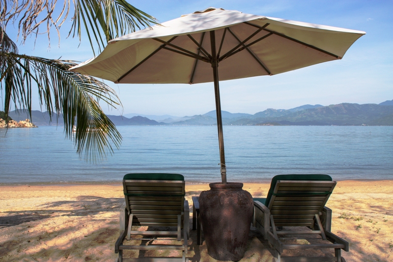 An Lam Villas Ninh Van Bay - Beach Chairs
