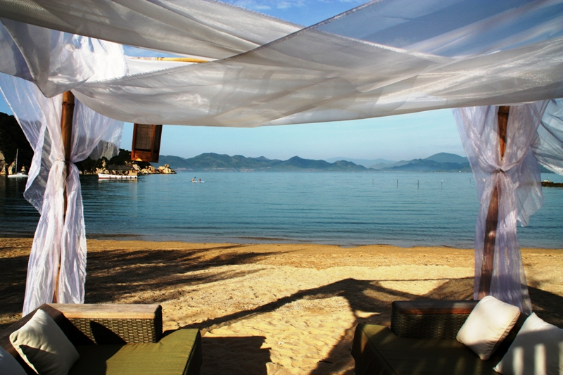 An Lam Villas Ninh Van Bay - Beach Gazebo