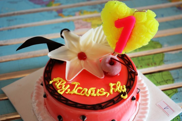 Icarus Cake 2