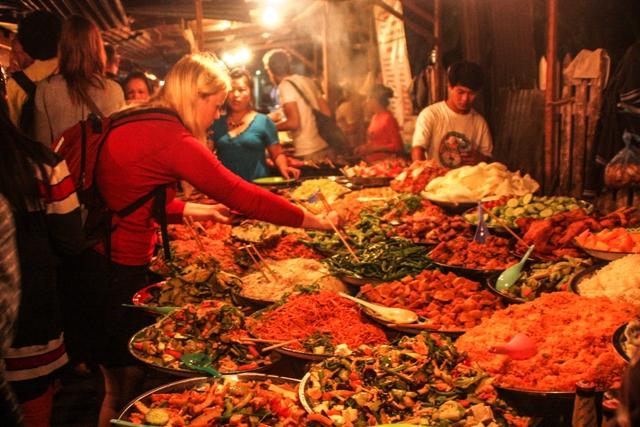 Luang Prabang- Food Street
