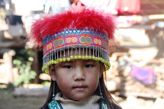 Luang Prabang - Minority Girl