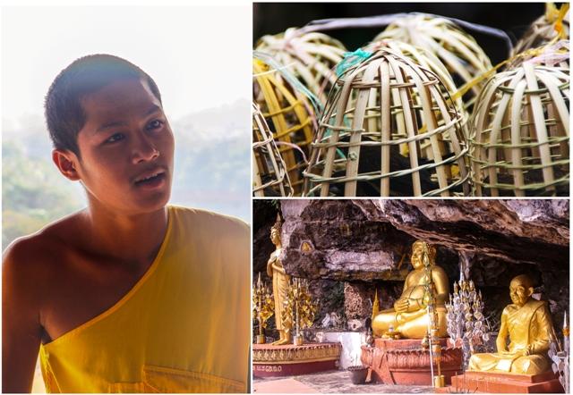 Monk Mt Phou Si