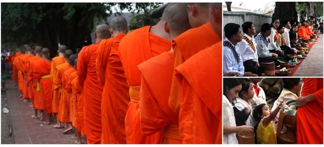 Luang Prabang - Monks Alms