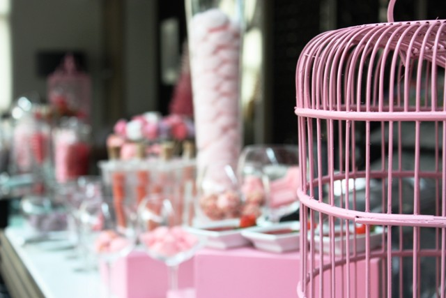 Pink Afternoon Tea - Sofitel Saigon Plaza - Bird cage
