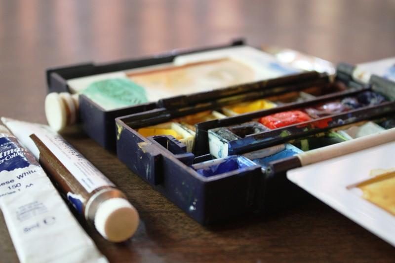 Watercolor Class - Palette