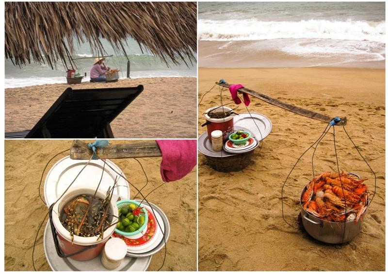 Beach eats