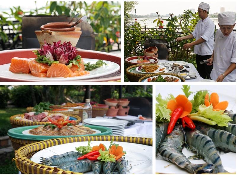 Saigon Domaine - Lunch BBQ