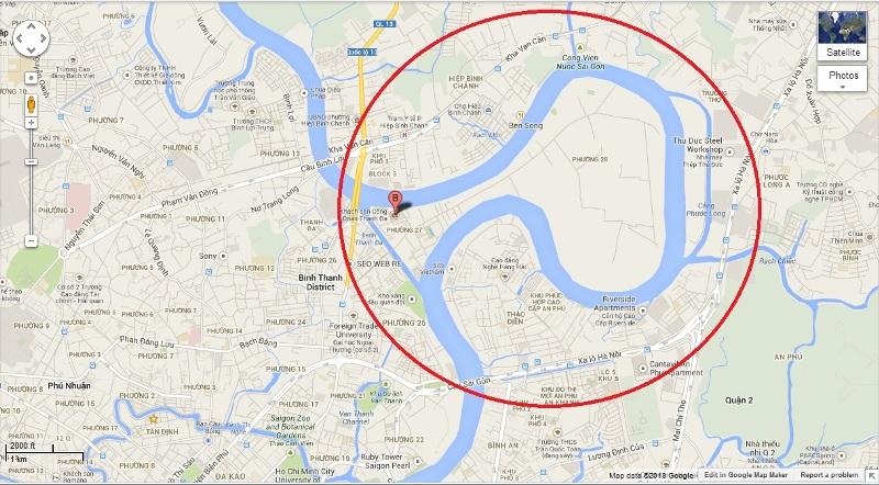 Thanh Da Map