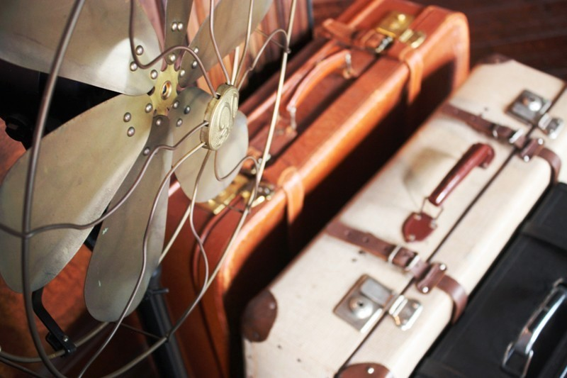 Hotel Muse - Vintage Suitcases