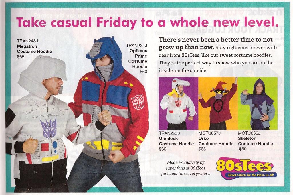 Skymall - Costume Hoodies