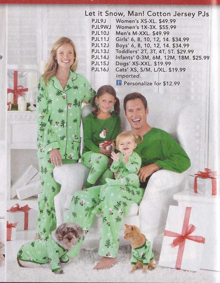 Skymall - Matching pyjamas