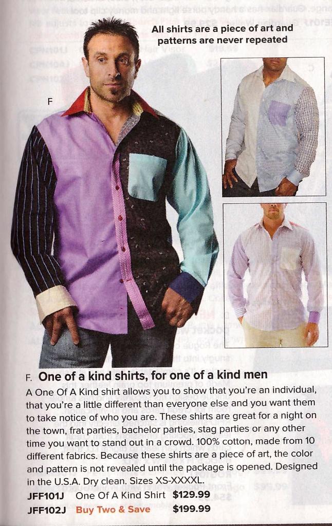 Skymall - Patchwork shirt