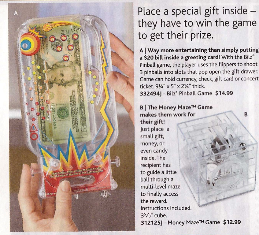 Skymall - Pinball Gift