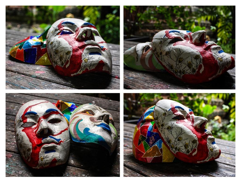 Bangkok - Baan Silapin - Masks - James Pham