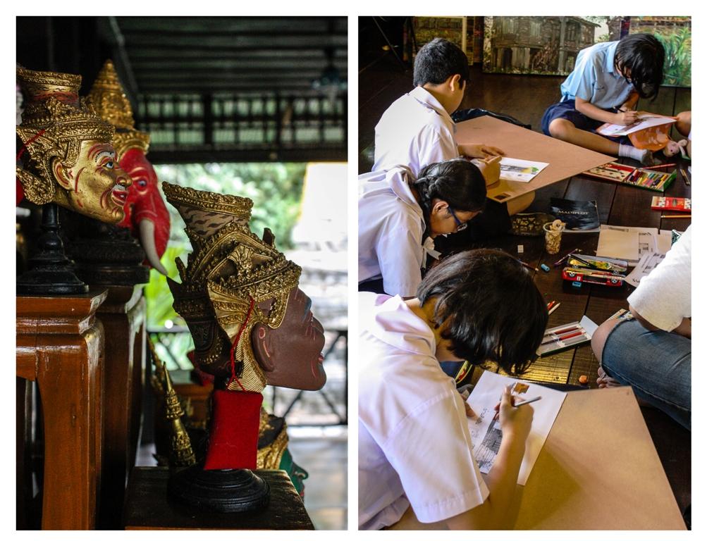 Bangkok - Baan Silapin - Students - James Pham