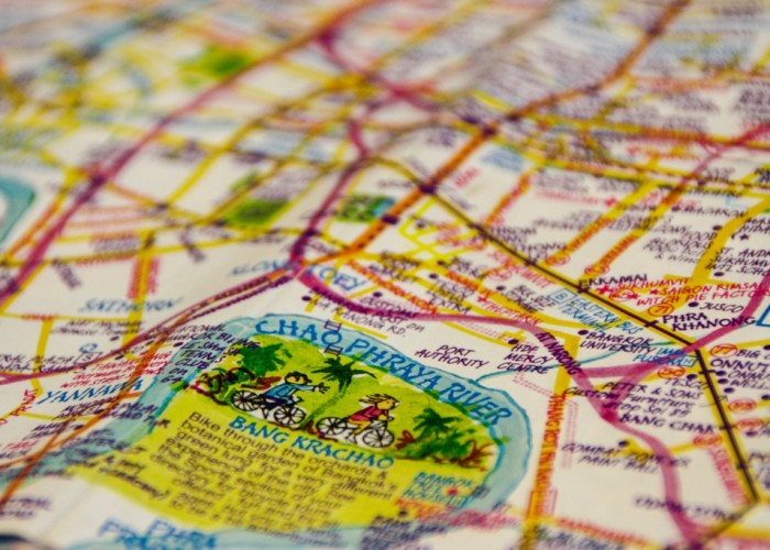 Nima Chandler's Bangkok – A Mapmaker's Guide to the City of Angels