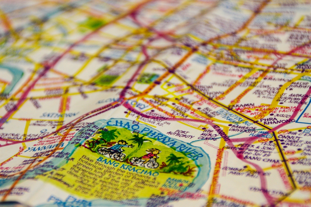 Bangkok - Nancy Chandler Map - James Pham -2