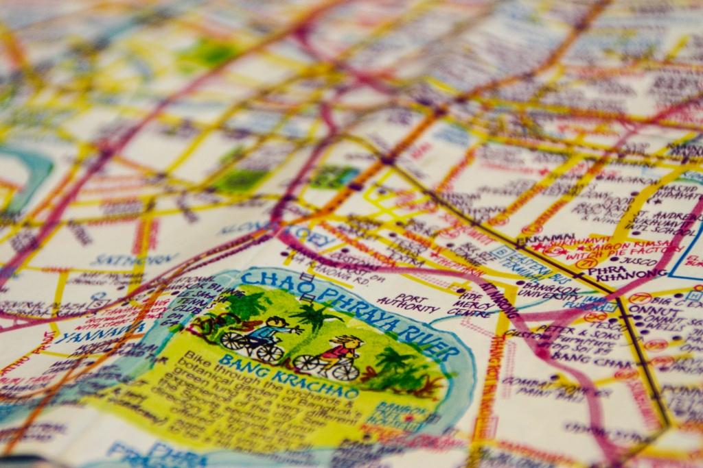 Bangkok - Nancy Chandler Map - James Pham -2