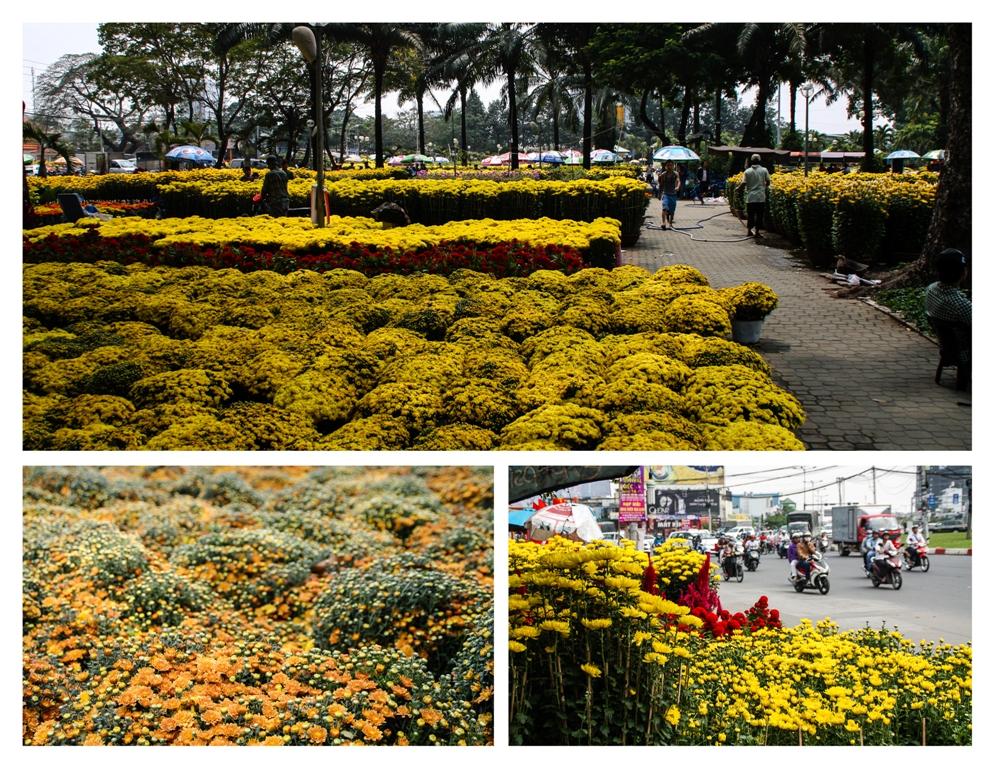 Pop up flower markets