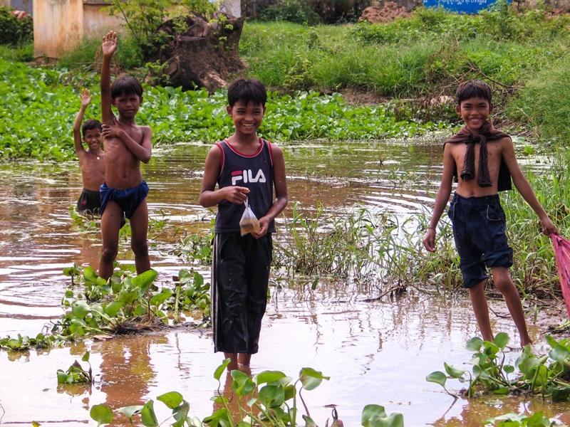 Cambodia-Smiling Boys